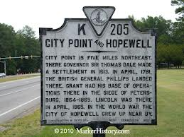 City Point Marker