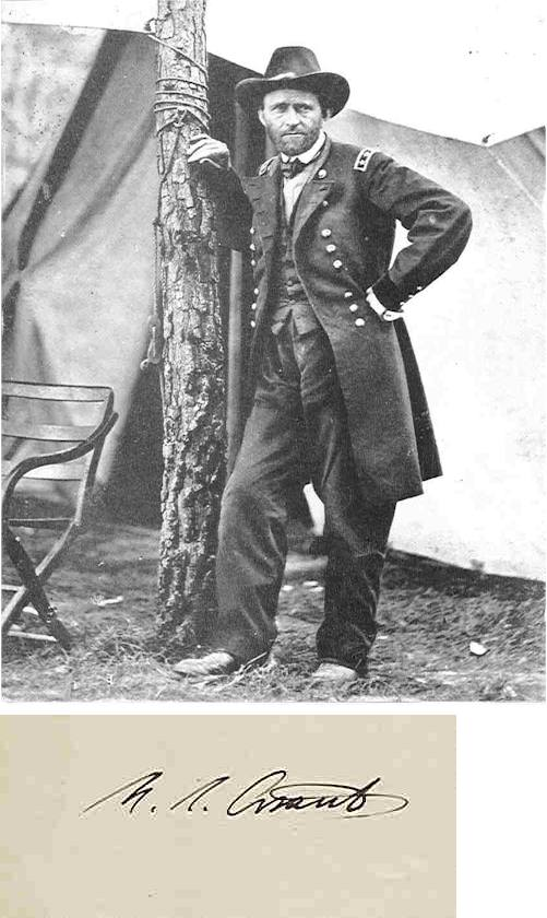 Grant at Cold Harbor, May/June 1864