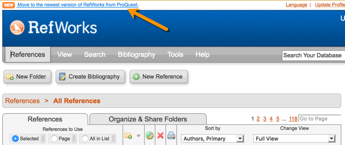 RefWorks - EndNote, RefWorks and Other Reference Managers - UCSF