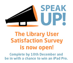 Library User Satisfaction Survey 2016