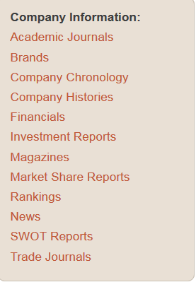 investment reports link