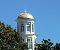 trible library dome