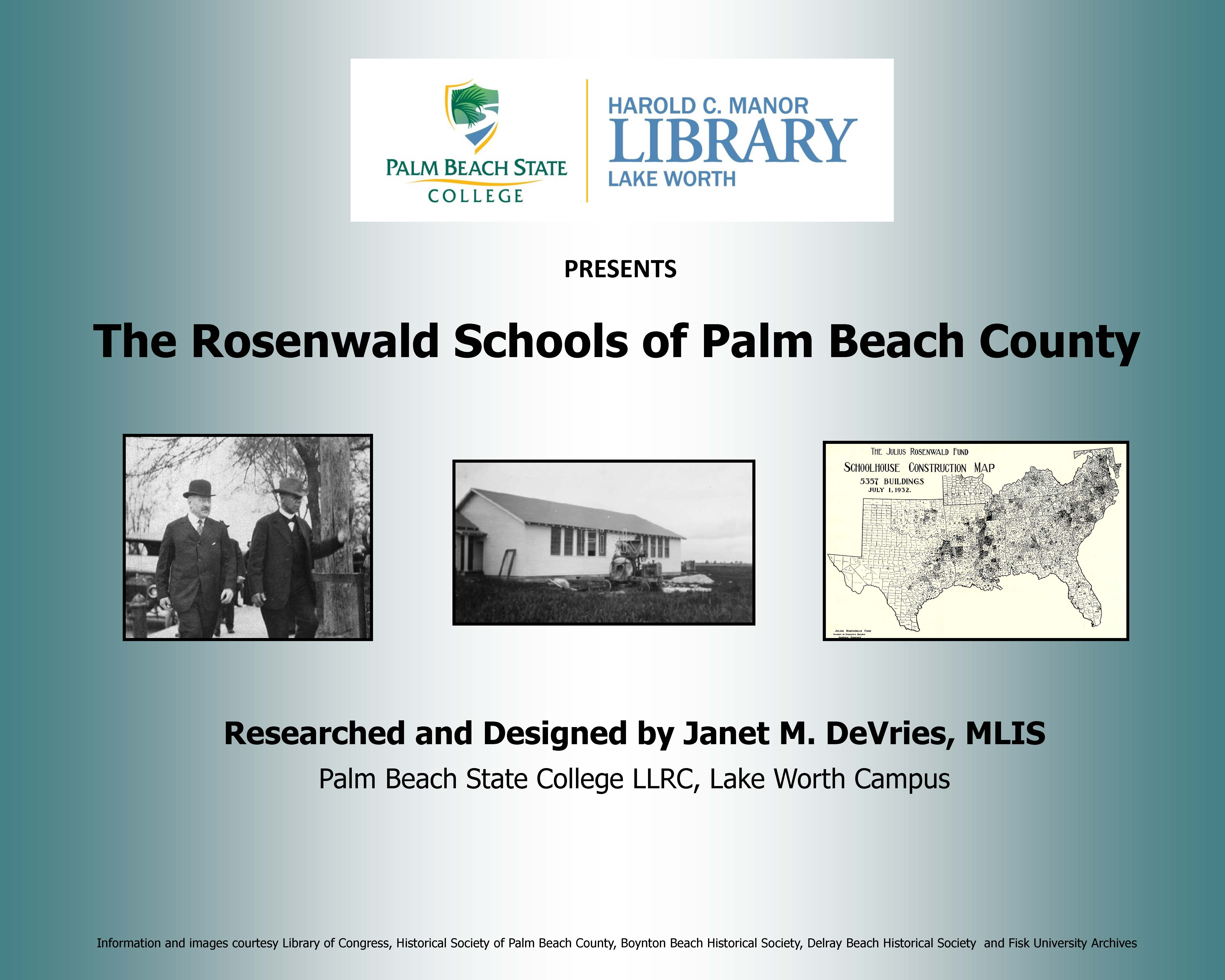Home Rosenwald Schools Of Palm Beach County Libguides At Palm