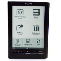 Sony E Readers for checkout