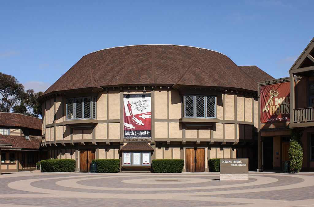 Picture of Old Globe Theater in Balboa Park, San Diego