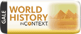 World History in Context Database Logo