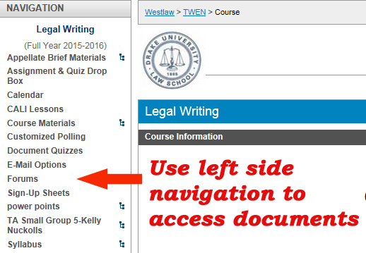 TWEN - Orientation - Registering for Bloomberg, CALI, Lexis, Westlaw