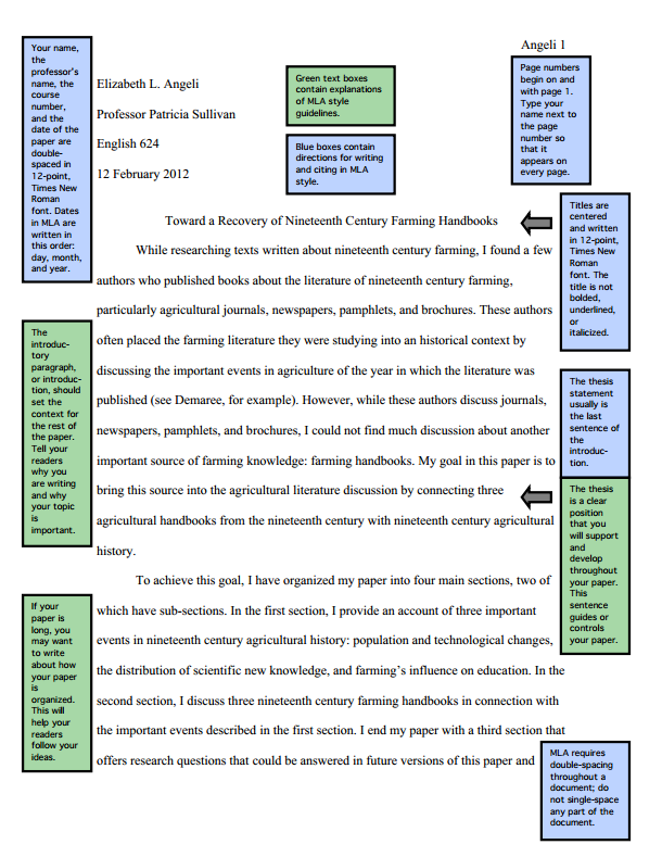 Examples Of Mla Research Papers