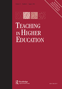 image of teaching in higher education