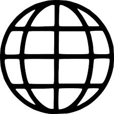 Icon of a globe