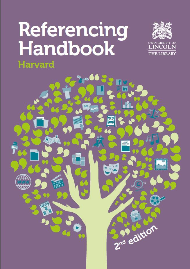 Cover of Harvard Referencing Handbook