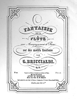 Fantaisie cover