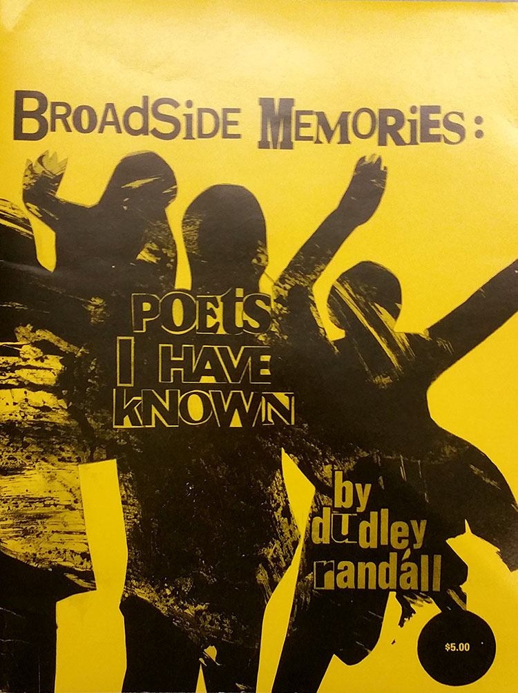Image of Broadside Memories by Dudley Randall