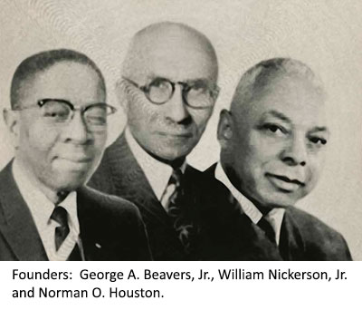GSM Founders Beavers, Nickerson, and Houston