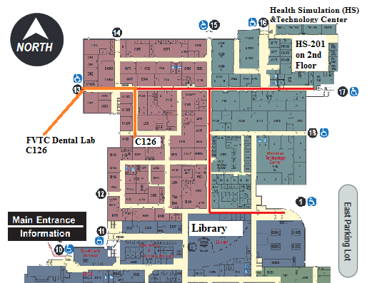 Oshkosh Campus Map.Fvtc Campus Map Www Naturalrugs Store
