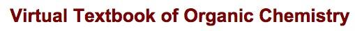 Virtual textbook of organic chemistry - title screenshot