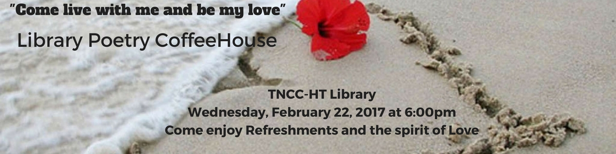 Poetry Coffee House at the HT on Feb. 22