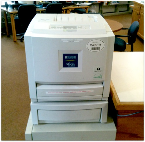 IRC Color printer