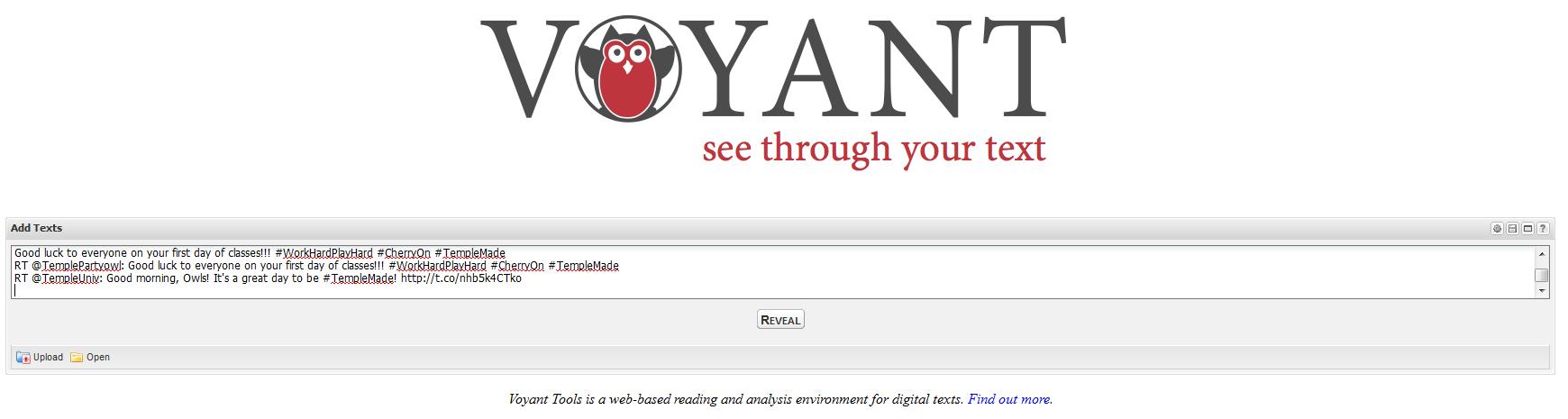 voyant search box