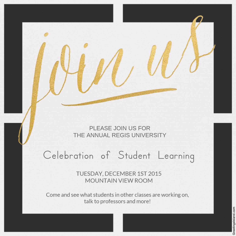 2015 Celebration of Student Learning - Center for ...