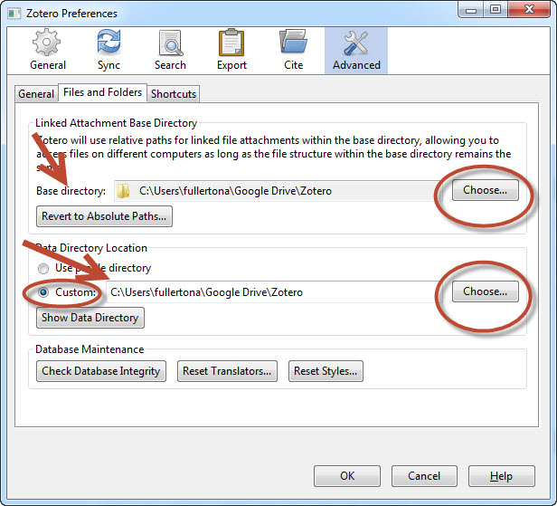 Syncing Files - Zotero Citation Software - LibGuides at Morningside