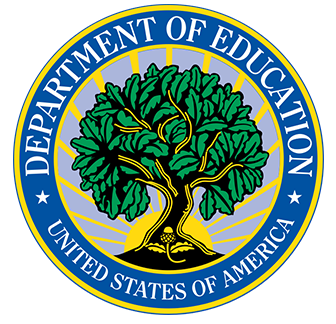 Logo of the Department of Education of the United States of America