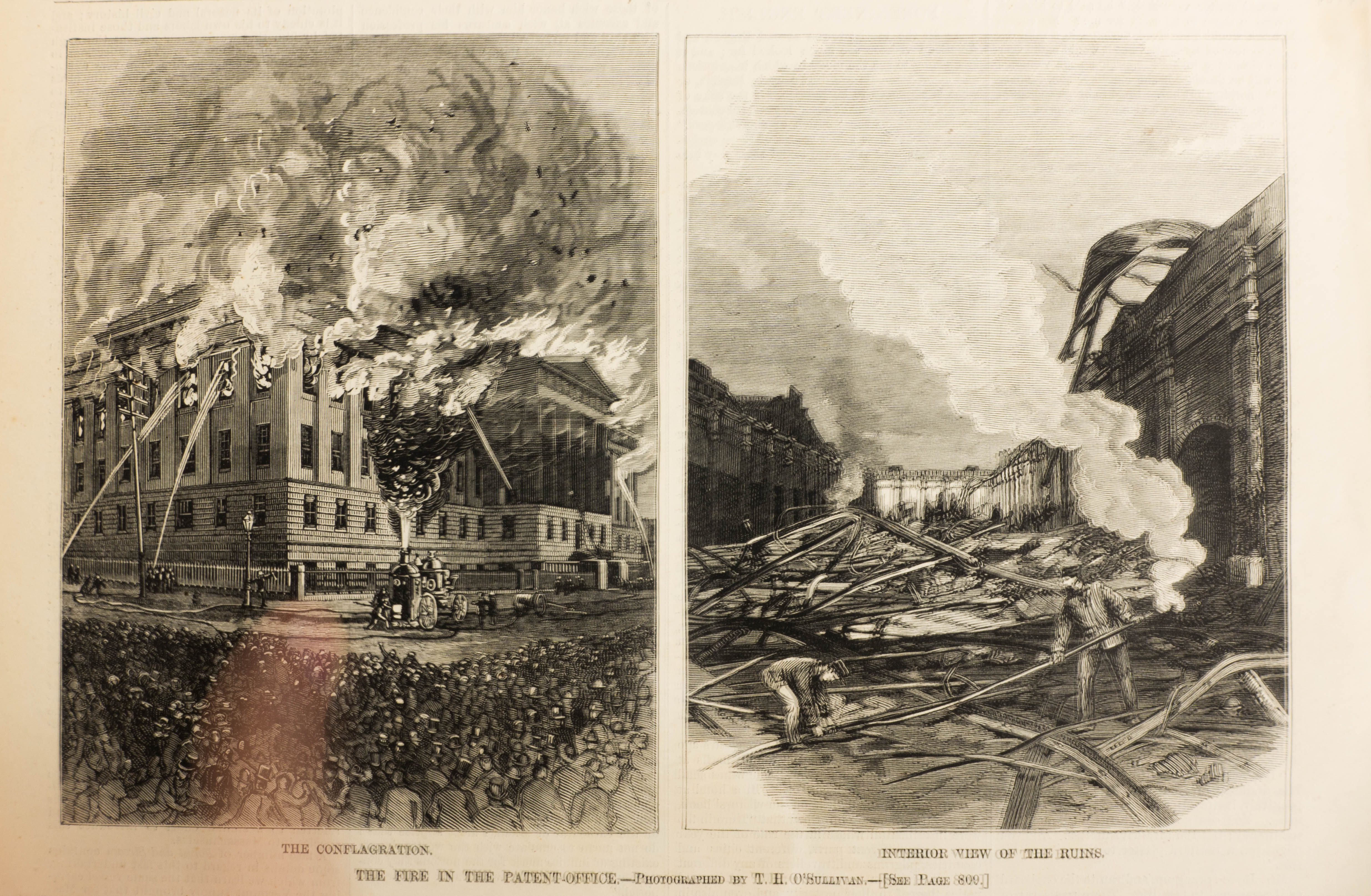 Patent Office Building Fire