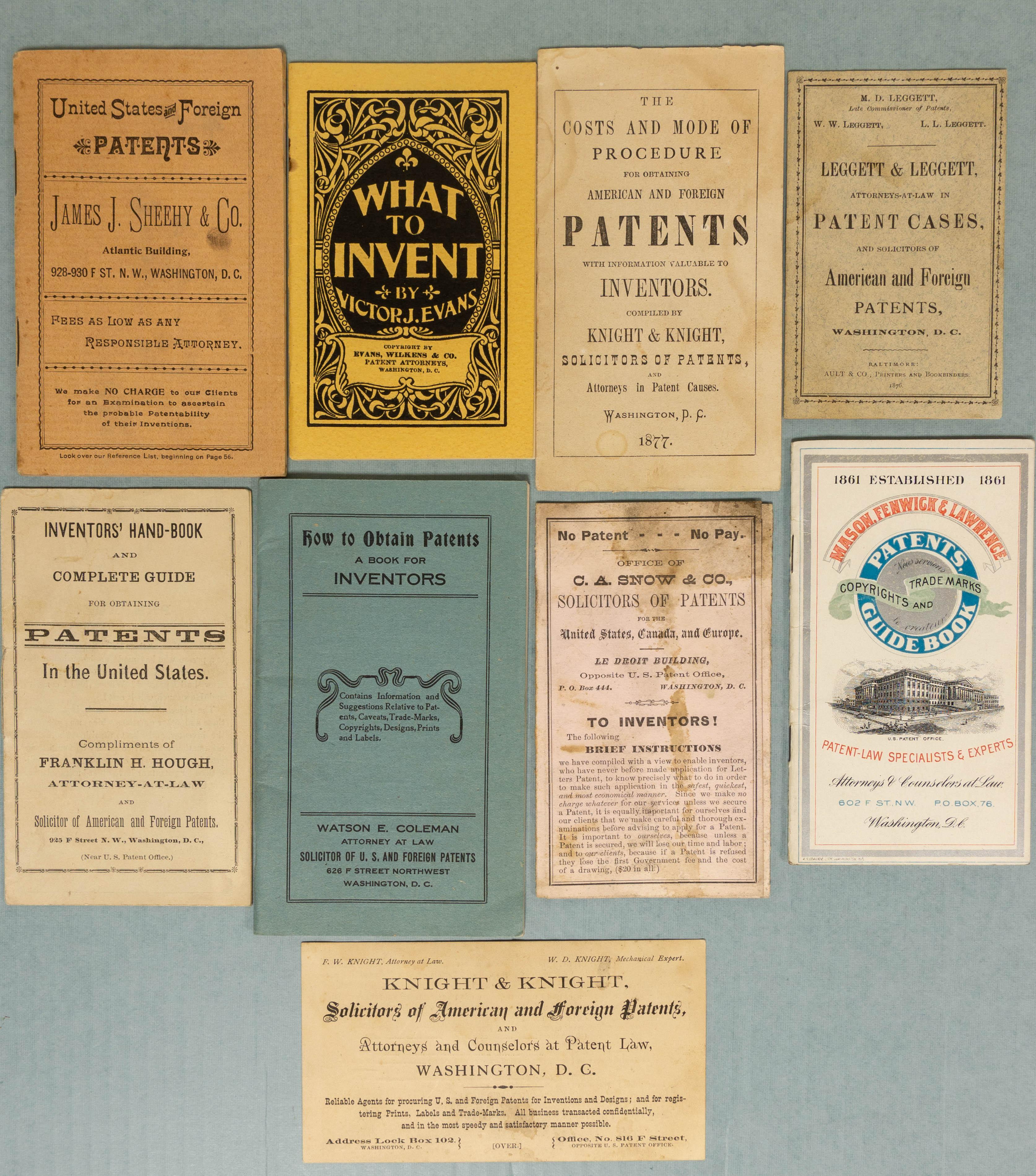 Attorney Pamphlets