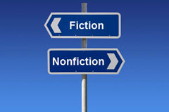 Fiction and Nonfiction Signs