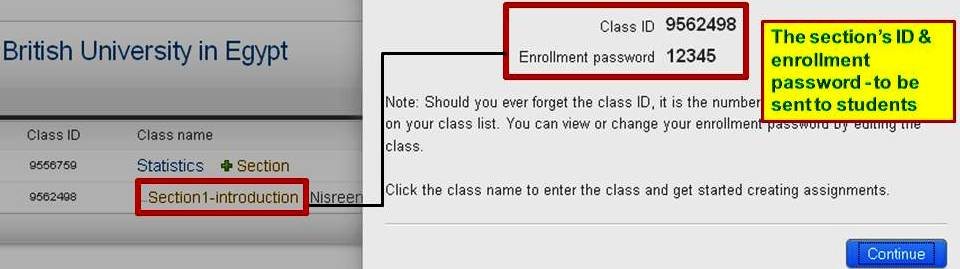 Create a Master Class - TurnItIn for Insturctors: User