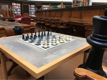 Chess in La Trobe Reading Room