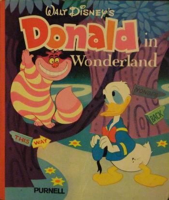 Walt Disney's Donald in Wonderland