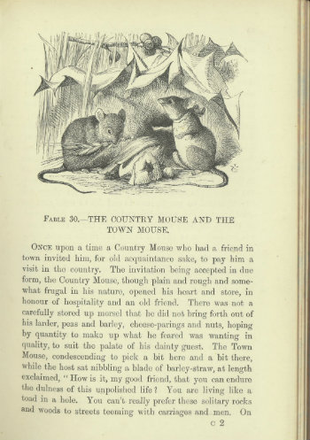 Aesop's fables illustrated by John Tenniel