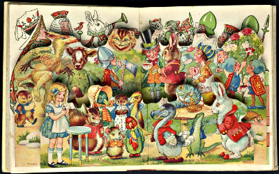 Alice in Wonderland: with 'come to life' panorama 1921