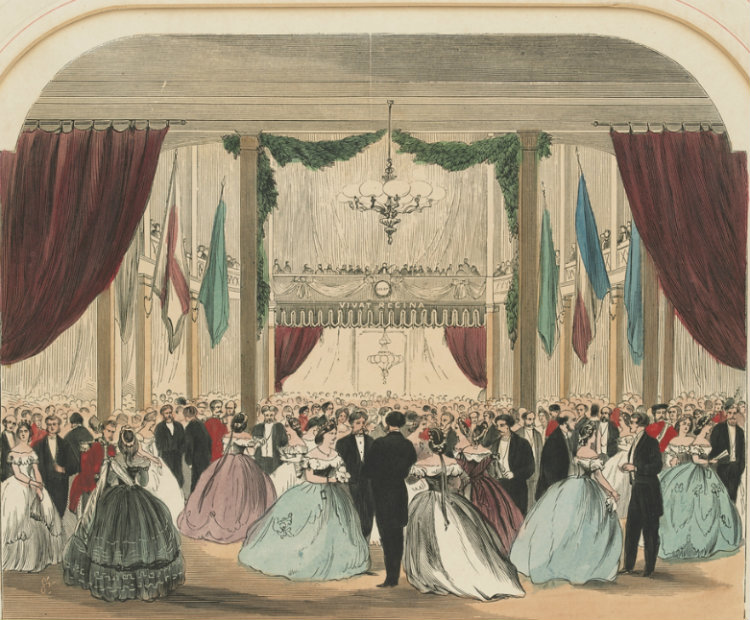 Vice-Regal Ball, Exhibition Building, Melbourne June 1st 1864 H15519