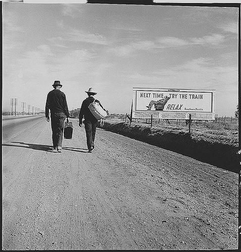 photograph Doreothea_Lange_Toward_LA_1937