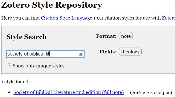 sbl annotated bibliography