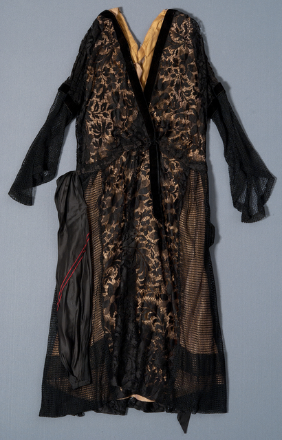 Evening dress worn by Mabeth Hurd Paige, c. 1930.