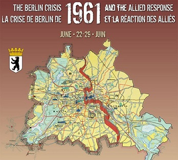 Essentials Berlin Wall NATO LibGuides At NATO Multimedia Library - Map of divided berlin