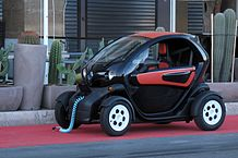 Image of Renault Twizy car