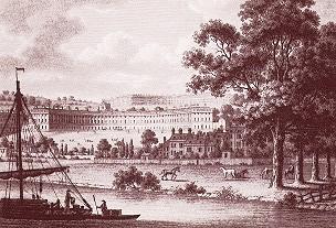 Drawing of Bath, England