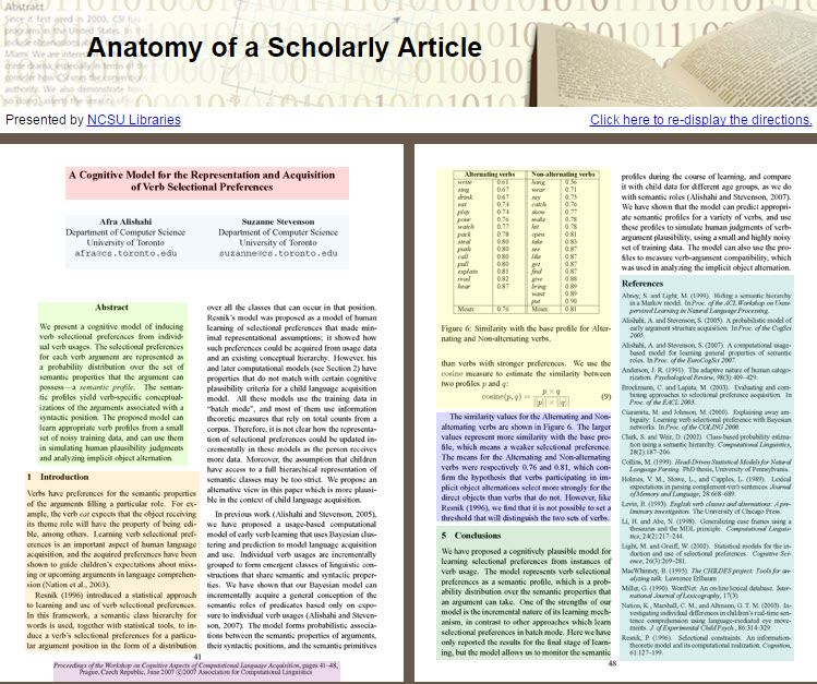 Primary Vs Secondary Articles Scholarly Literature Types