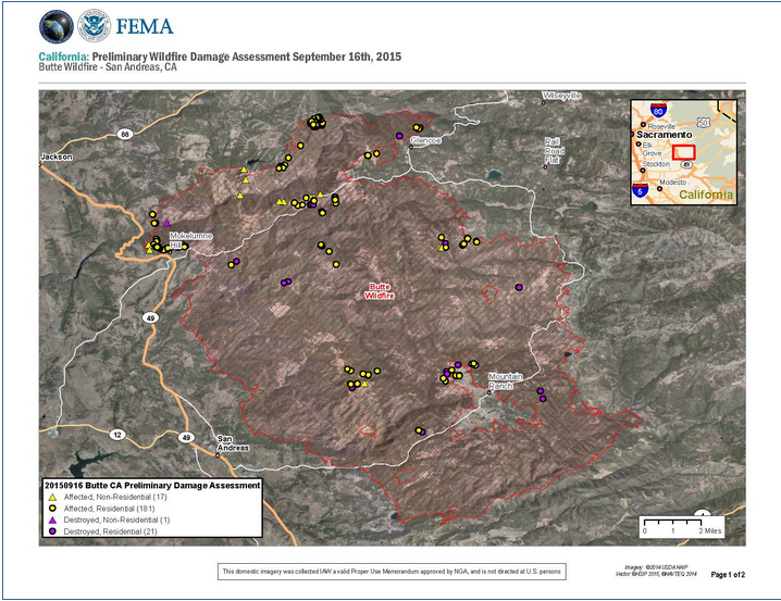 NGA California Wildfire Assessment