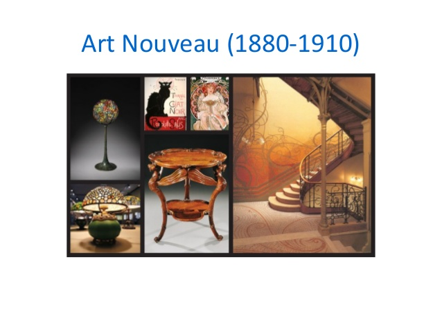 Art Nouveau Movements Of Art And Design Libguides At Marian College,Art Graphic Design Positive And Negative Space