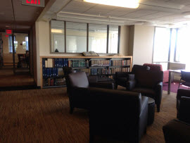 Graduate Reading Room -- Request the access code at the Circulation Desk