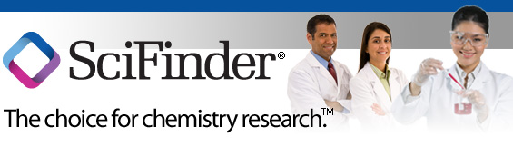 SciFinder: The Choice for chemistry research. Logo