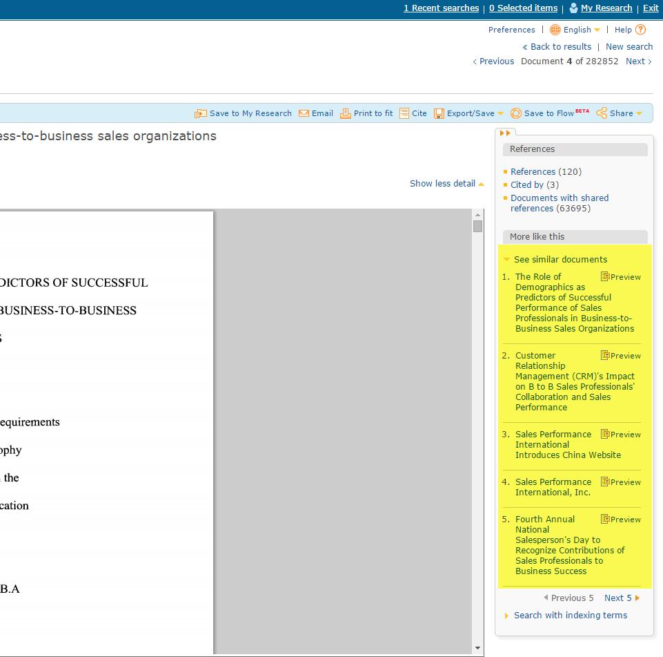 Similar Bibliographies - ONLINE SEARCH TECHNIQUES