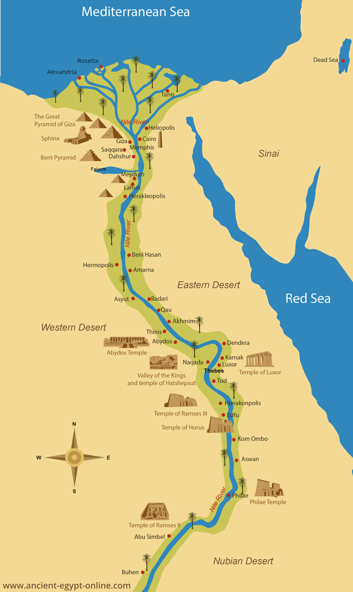 Task 1: Egypt   Early Civilizations  Nature and Technology