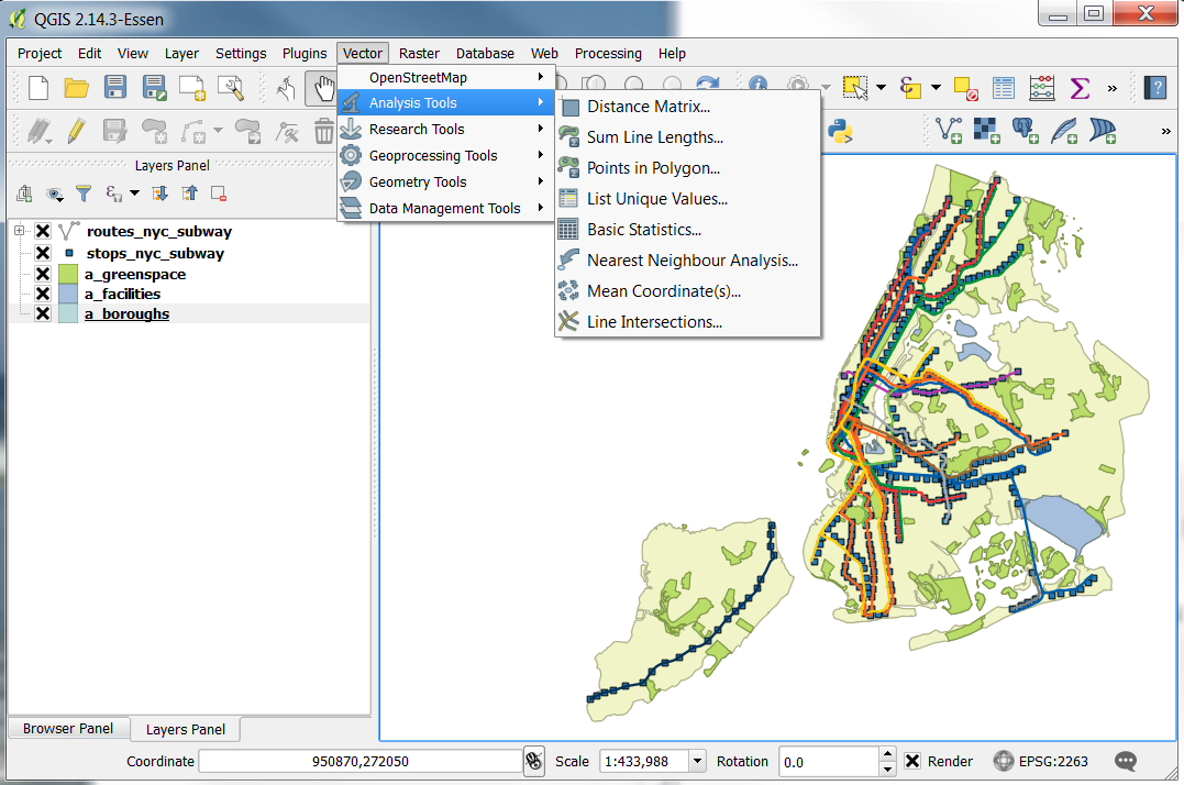 Nyc Map Gis.Intro To Gis Geographic Information Systems Gis Research