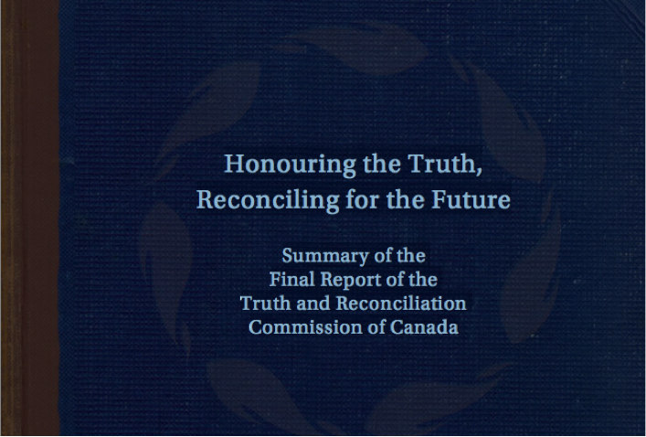 TRC Findings title page